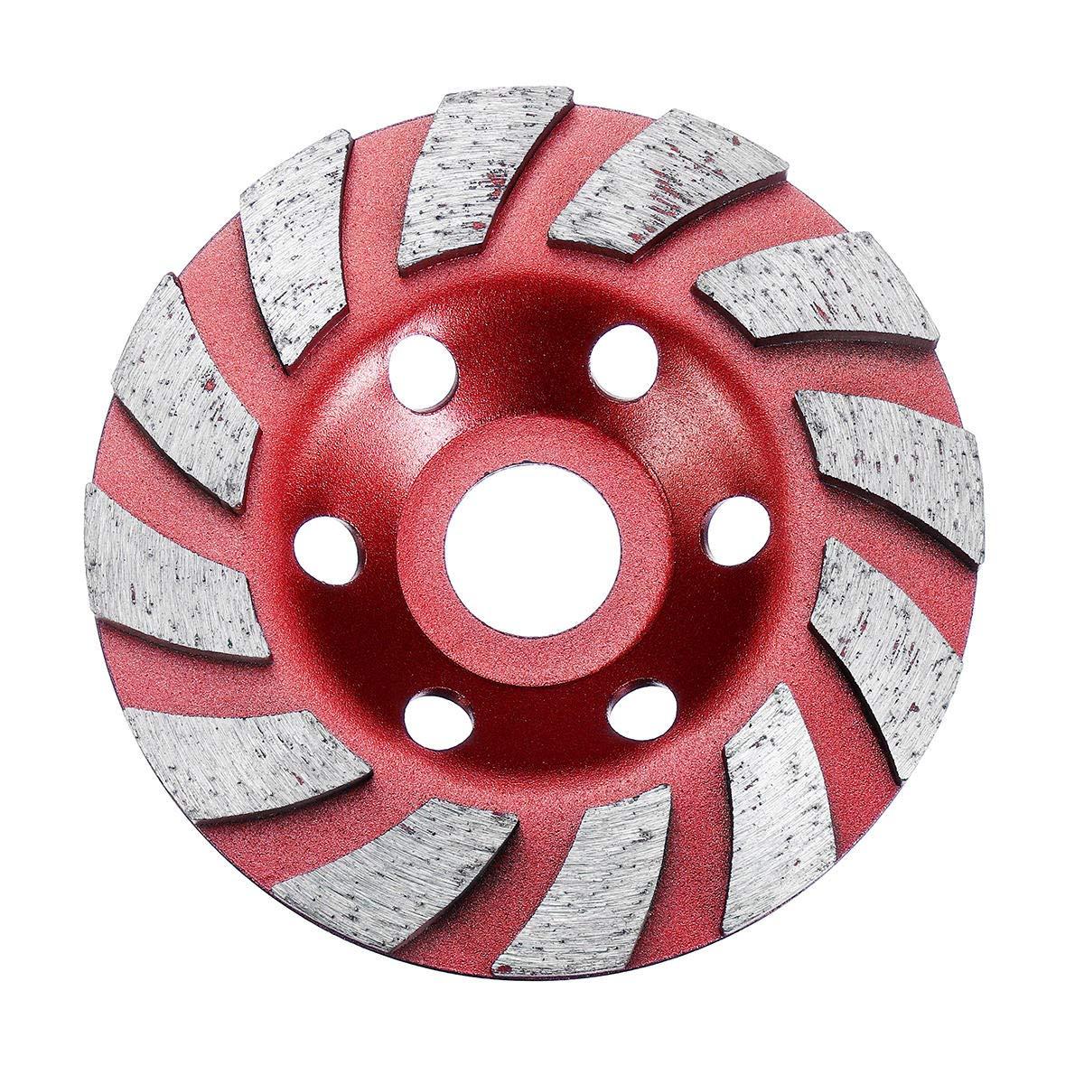 100mm*4mm Diamond Grinding Wheel Sanding Disc Concrete Masonry Stone Marble  *!