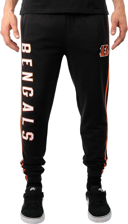 Ultra Game NFL Men's Active Basic Jogger Fleece Pants