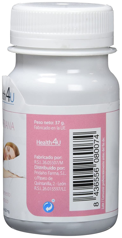 H4U - H4U Valeriana 60 cápsulas blandas de 620 mg: Amazon.es: Salud y cuidado personal