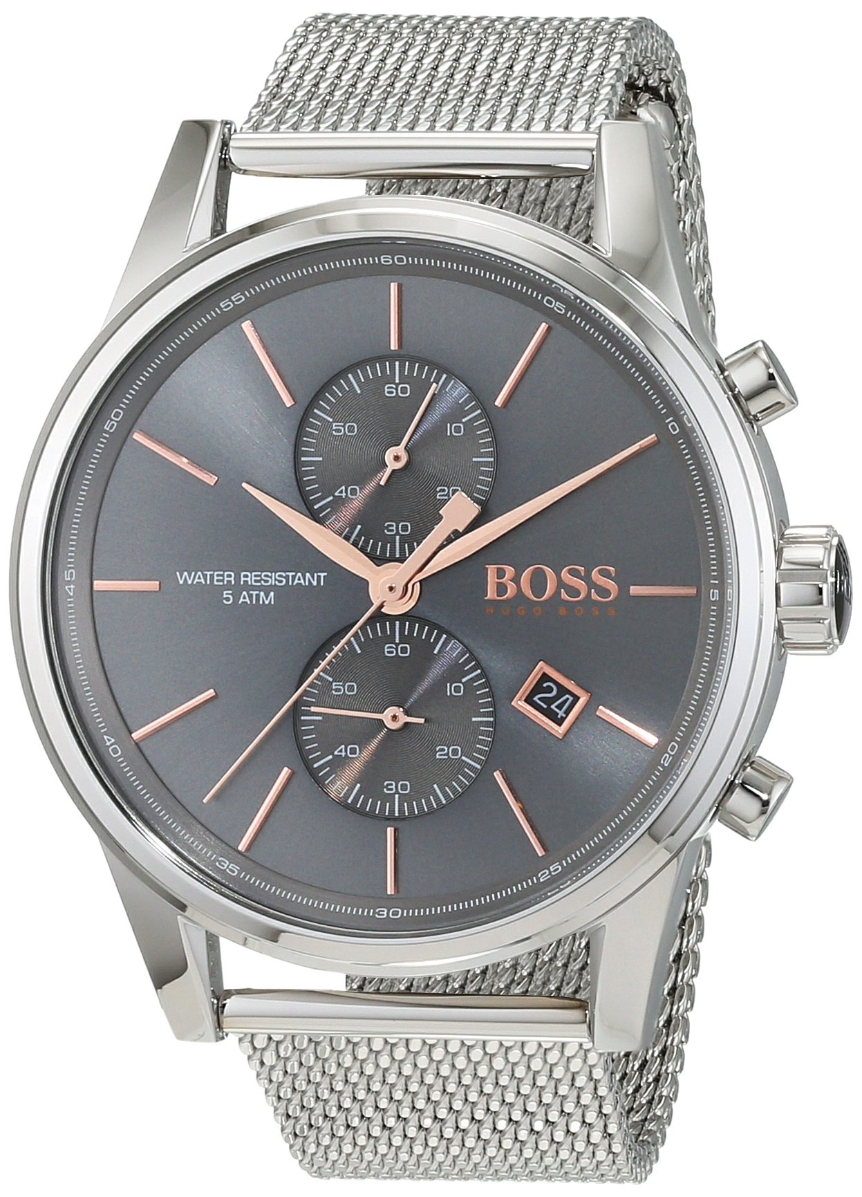 Hugo Boss JET Mesh 1513440 Mens Chronograph Design Highlight