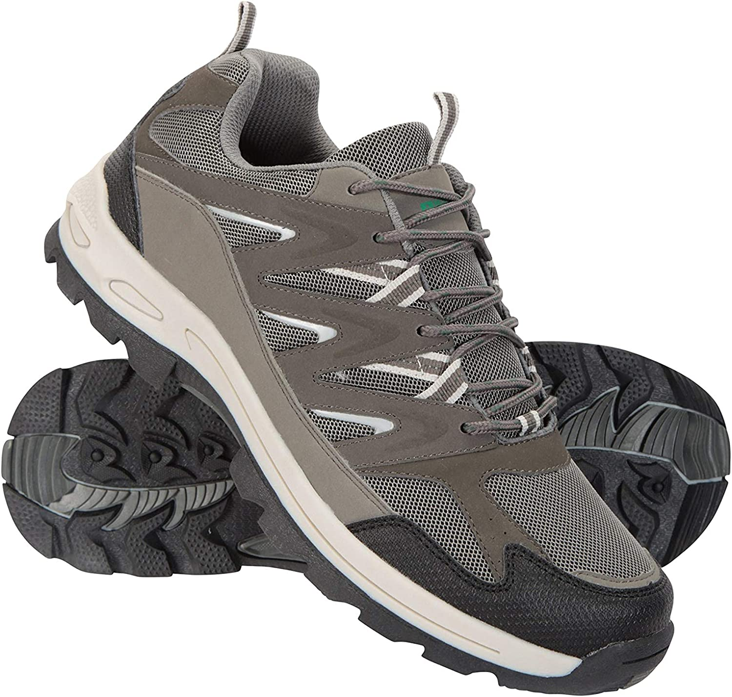 Lightweight Footwear Cushioned Footbed Waterproof Upper High Traction Outsole Mountain Warehouse Ramble Mens Softshell Shoes Travelling Hiking Best for Walking