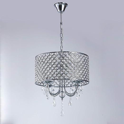 LightInTheBox - Alarma Caja® moderna lámpara colgante Drum ...