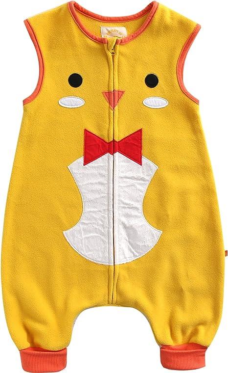 Vaenait baby 1-7Y Cozy Warm Fleece Kids Boys Wearable Blanket Sleeper