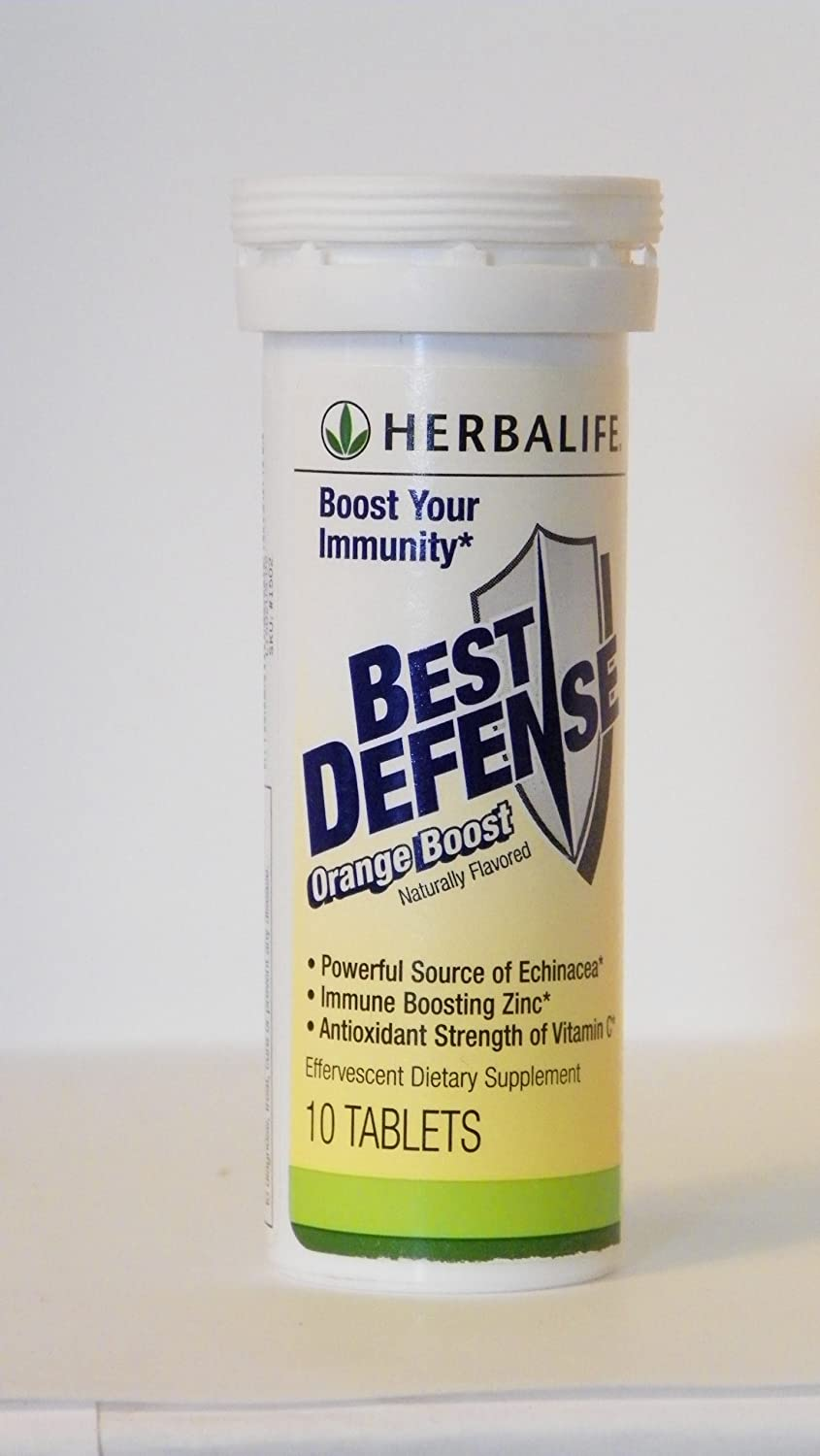 Herbalife Best Defense – Orange Boost 10 Tablets
