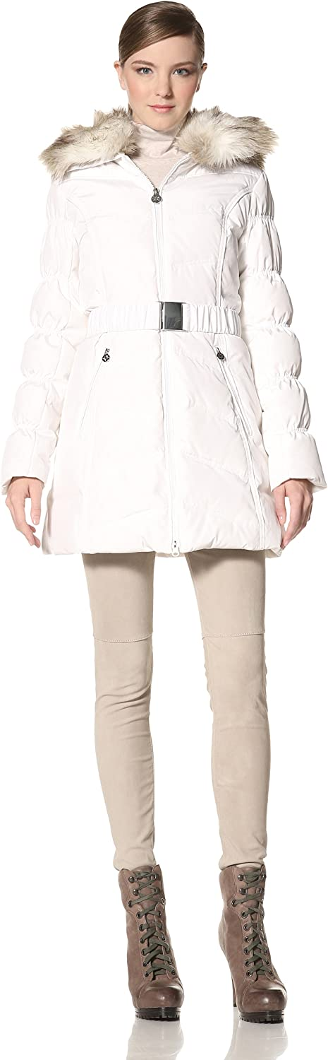 Laundry by Shelli Segal Women's Quilted Belted Down Coat