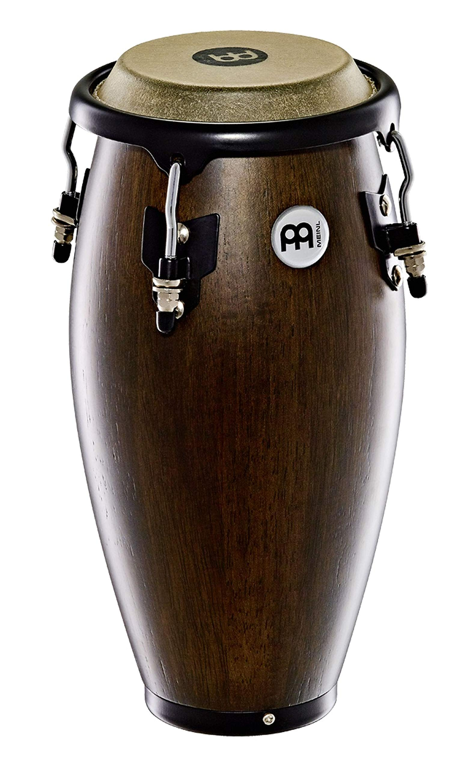Meinl Percussion 4 1/2'' Mini Conga with Hardwood Shell and Tunable Buffalo Skin Head - NOT MADE IN CHINA - Vintage Wine Barrel, 2-YEAR WARRANTY, MC100VWB)