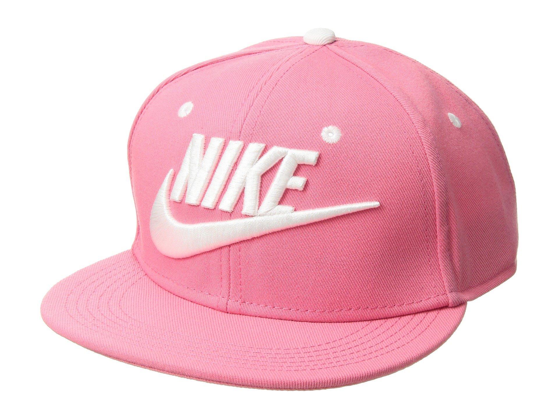 Nike Futura True Cap Youth Pink Nebula Black White