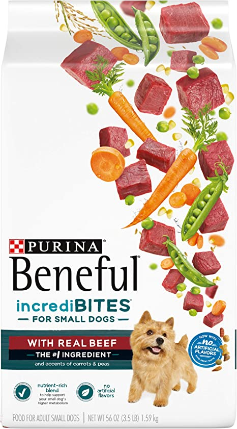 Amazon Com Purina Beneful Small Breed Dry Dog Food Incredibites