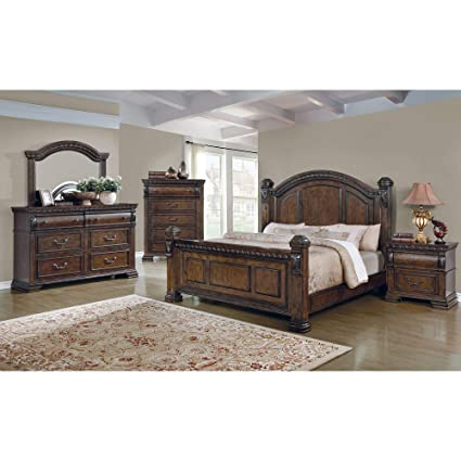 Amazon.com: CDecor Quainton 6-Piece Bedroom Set Queen ...