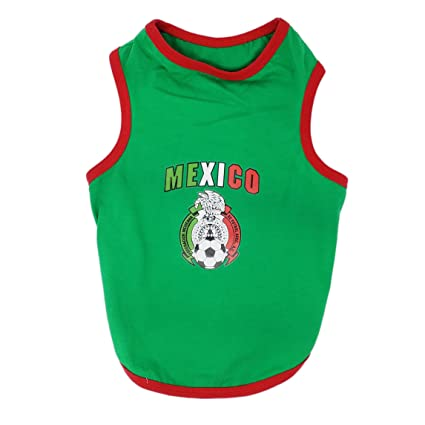 Chaya Mexico- Pet Tank Puppy Summer Clothes for Small Dogs (XL)