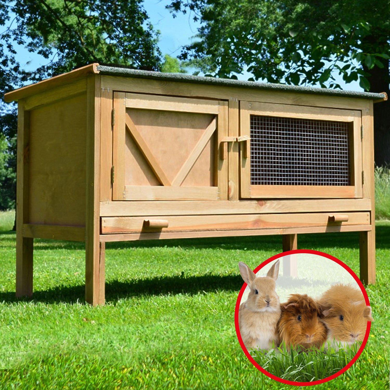 Zooprimus Kaninchenstall 24 Hasenkäfig - HASI - Stall für ...