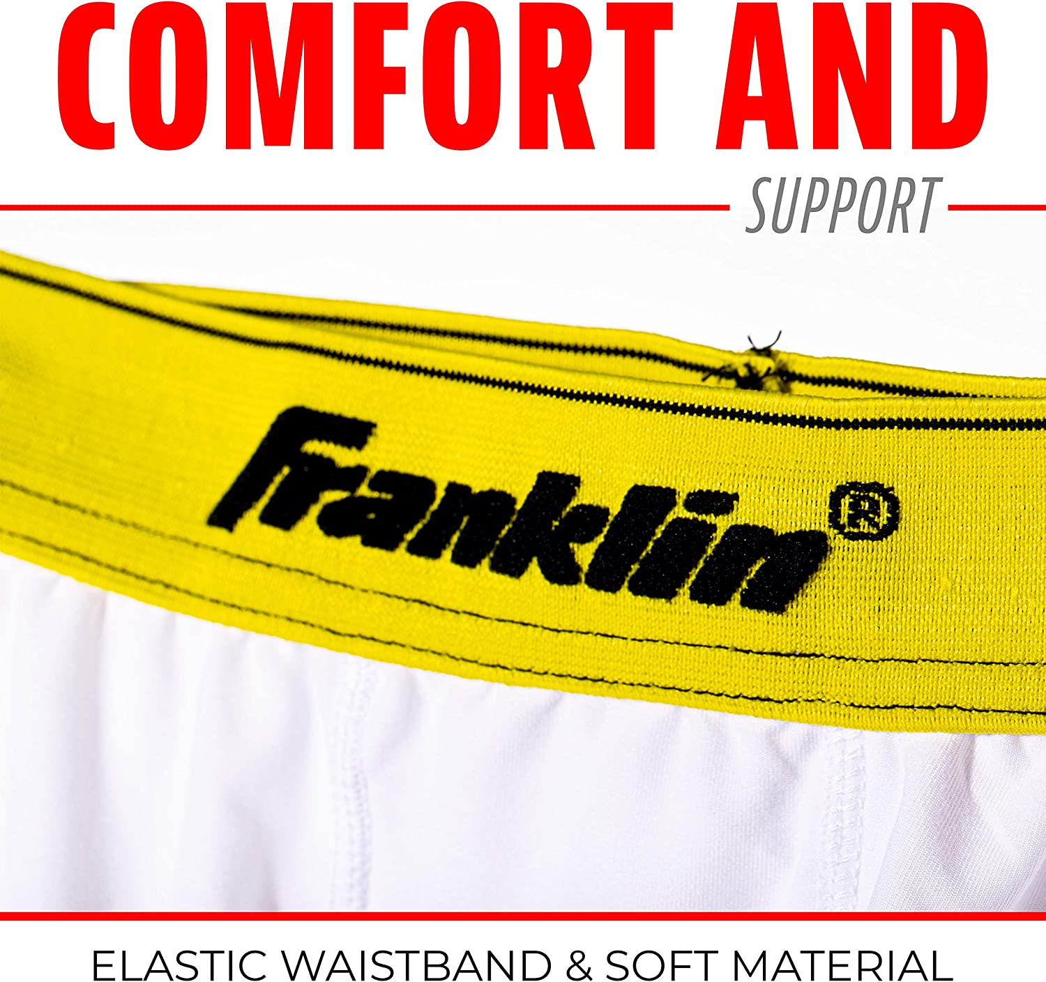Franklin Sports Youth Baseball Sliding Shorts - Padded Slide Shorts with Cup Holder - Compression Shorts Perfect For Baseball and Softball - Large : Baseball And Softball Apparel : Clothing