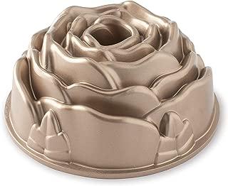 product image for Nordic Ware Platinum Rose Cast Aluminum Bundt Pan, One size, copper