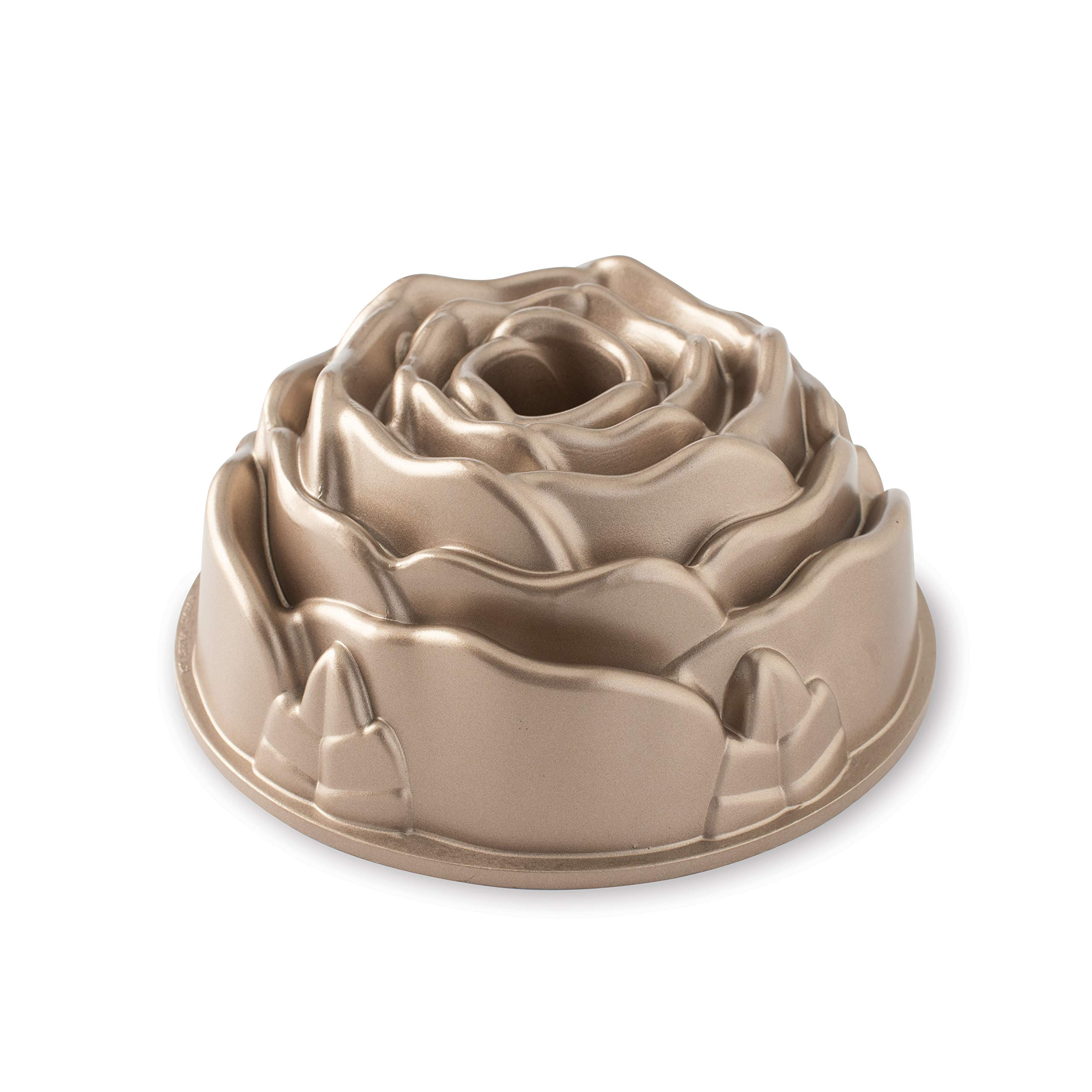 Nordic Ware Platinum Rose Cast Aluminum Bundt Pan, One size, copper