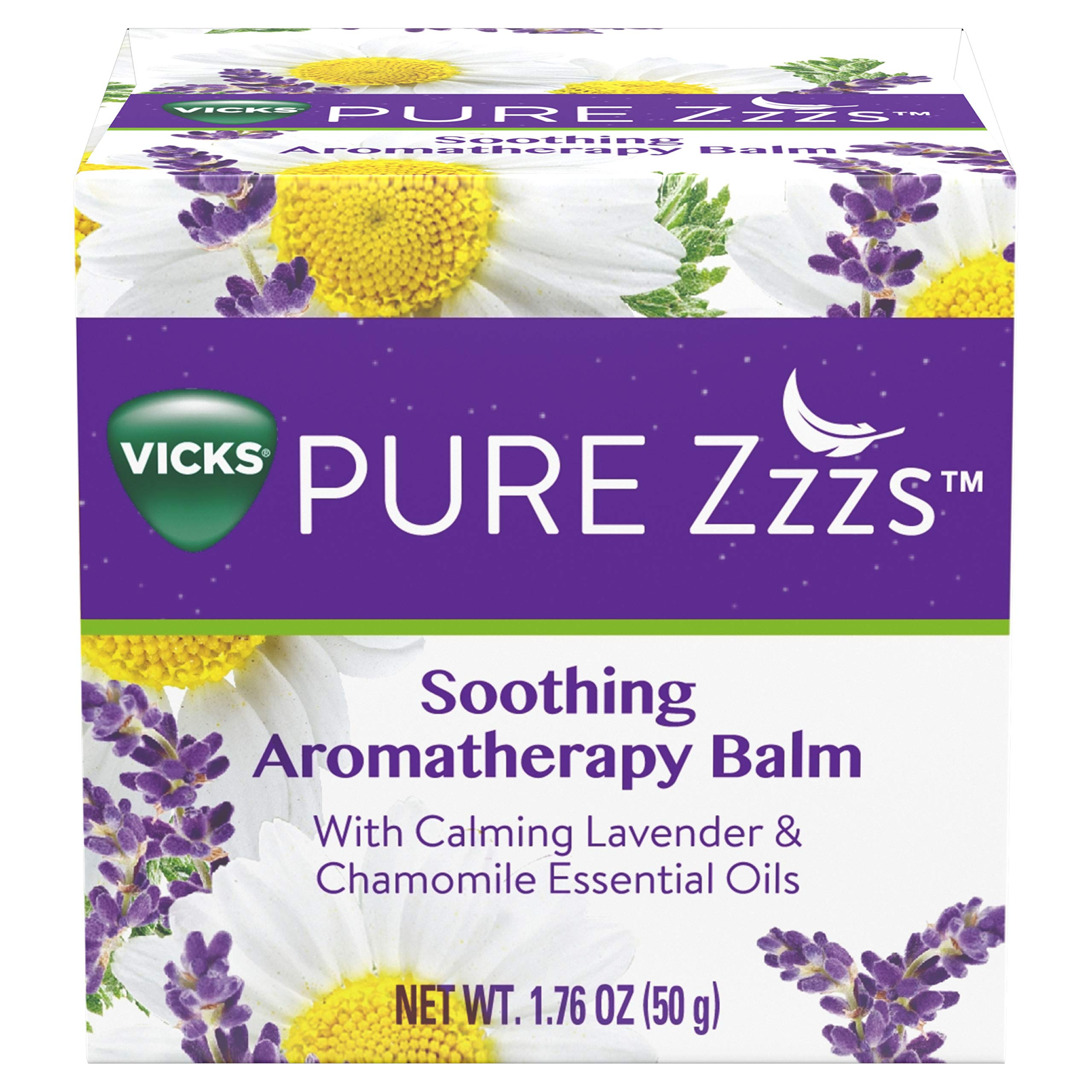 Vicks ZZZQuil Pure Zzzs Soothing Aromatherapy Balm with Essential Oils 1.76 oz