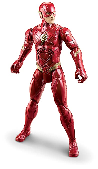 Mattel DC Justice League True-Moves Series The Flash Figure, 12