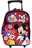 Disney Full Size Mickey Mouse and Friends Kids Rolling Backpack