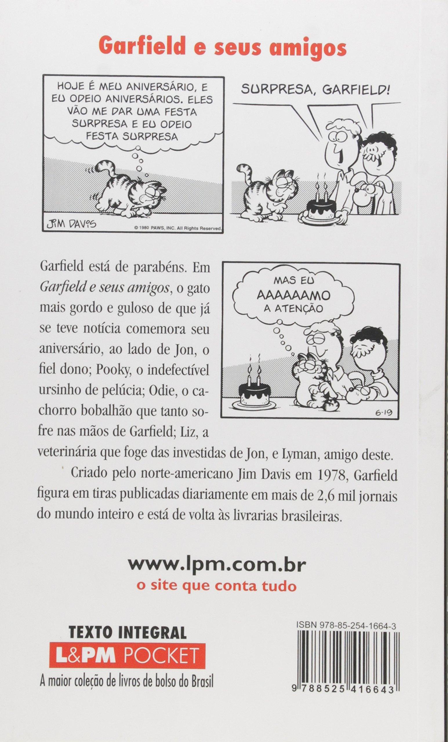 Garfield 8. E Seus Amigos - Coleção L&PM Pocket (Em Portuguese do Brasil): Jim Davis: 9788525416643: Amazon.com: Books
