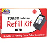 Turbo Ink Cartridge Refill Kit for Canon cl 741 Color Ink Cartridge