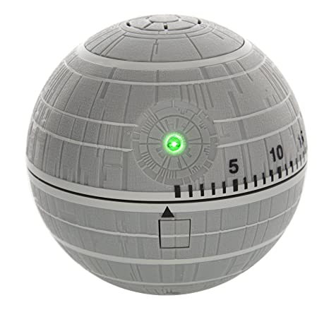 Star Wars-Set da gioco Death Star-Timer da cucina, colore: grigio ...