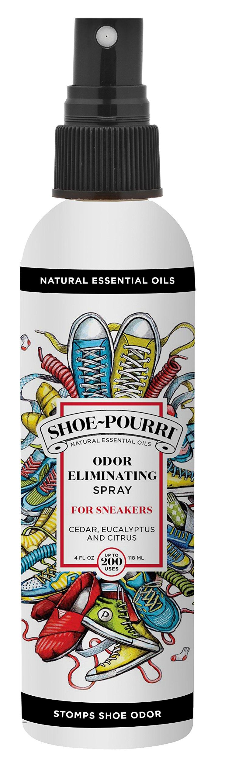 Shoe-Pourri Shoe Odor Eliminator 4oz Spray