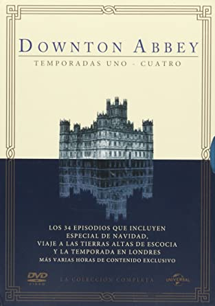 Amazon.com: Downton Abbey Temp. 1-4 En Espanol Region 4: Movies & TV