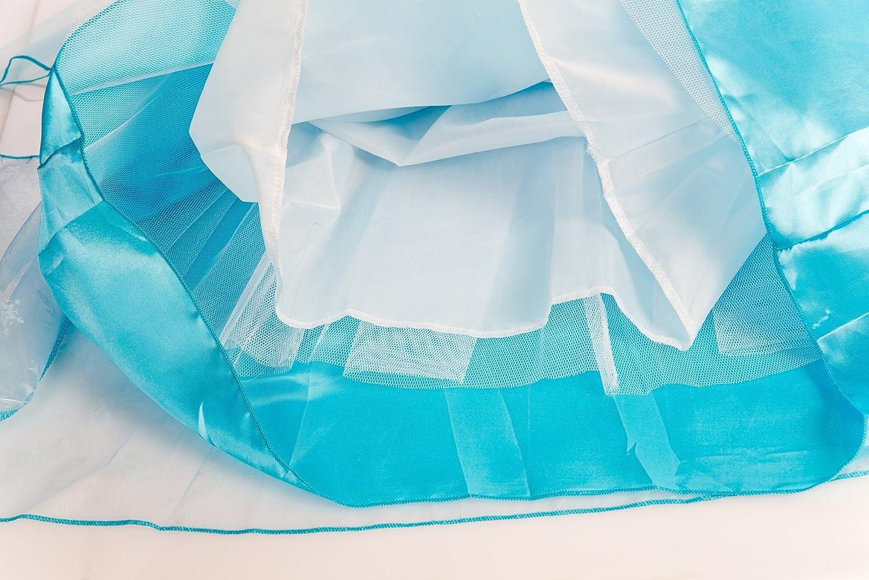 ELSA /& ANNA/® Ragazze Principessa Abiti Partito Vestito Costume IT-Dress-SEP
