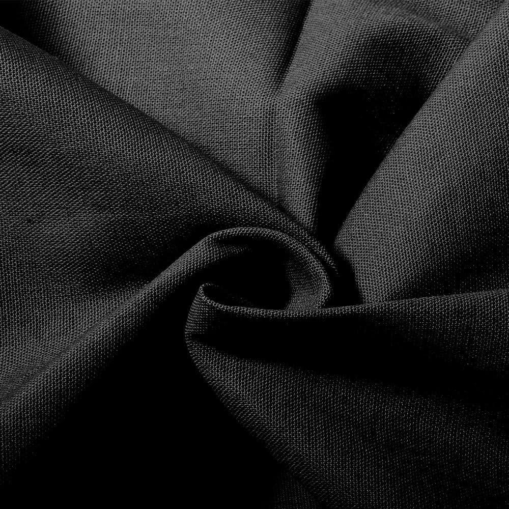 Lavable Pur Coton Pliable Bords Enti/èrement Bord/és Fond Bleu Chromakey//Toile de Fond Portable Professionnel Studio Photo Studio /Écran Forte Qualit/é De Construction Durable