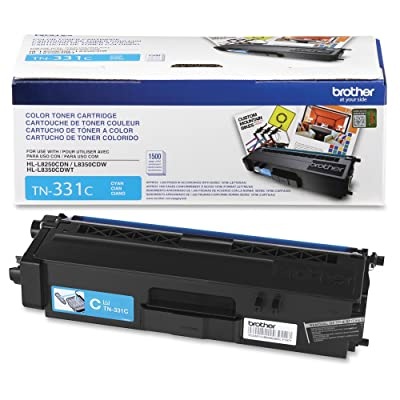 Brother TN331C TN331C Toner Cyan: Toys & Games