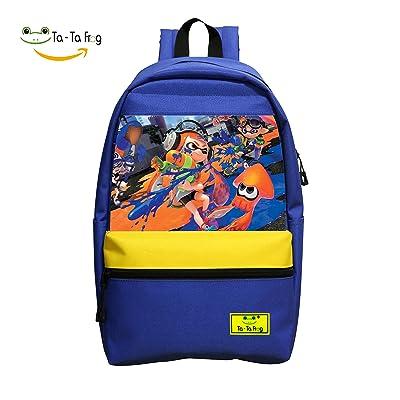 Magic Splatoon School Bag Backpack Boys Girls