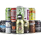 Beer Hawk Introduction to Craft Beer Cans Mixed Case – 12 x Pale Ale, Lager, IPA, Wheat Beer Selection