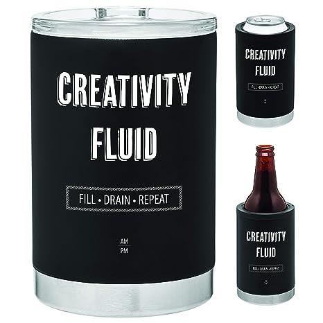 Amazon.com: Enfriador de latas 3 en 1 de acero inoxidable ...