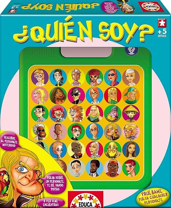 Educa 646116 - Juego ¿Quién Soy?: Amazon.es: Juguetes y juegos