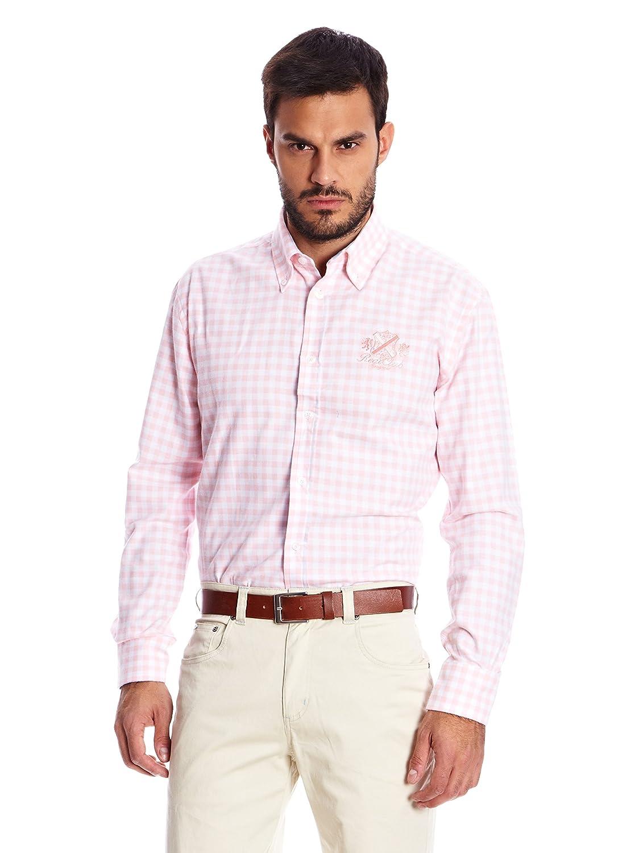 Spagnolo Camisa Hombre Rosa XL: Amazon.es: Ropa y accesorios