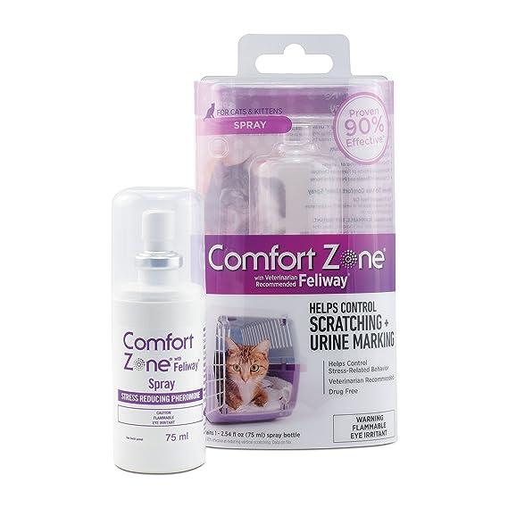 Zona de Confort Feliway Spray para Gatos calmante: Amazon.es: Productos para mascotas