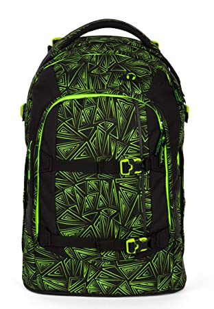 726fd9f321b9e Satch Schulrucksack-Set 2-TLG Pack Green Bermuda Grün  Amazon.de ...
