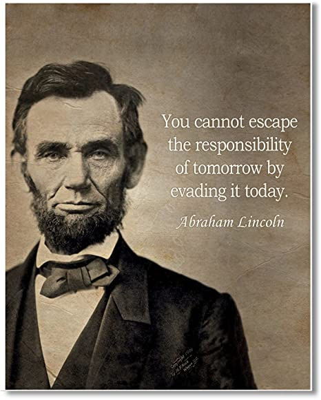 Amazon Com Gabby S Choice Abraham Lincoln Quote You