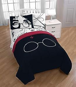 Jay Franco Harry Potter Always Bed Set, Full