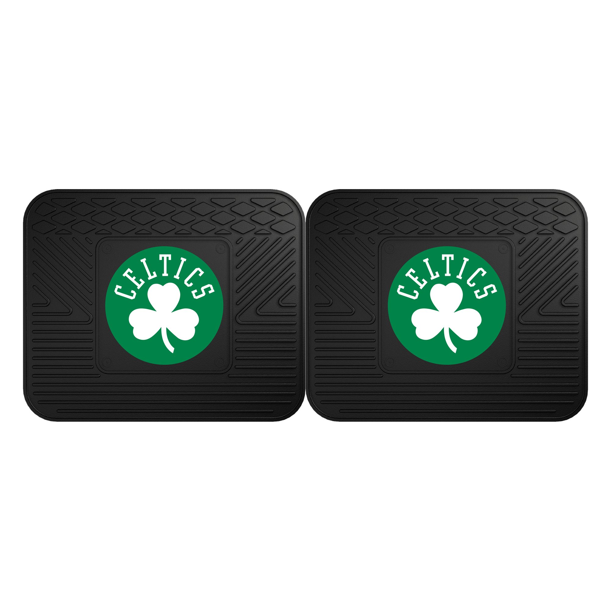 Fanmats 12433 NBA - Boston Celtics Utility Mat - 2 Piece