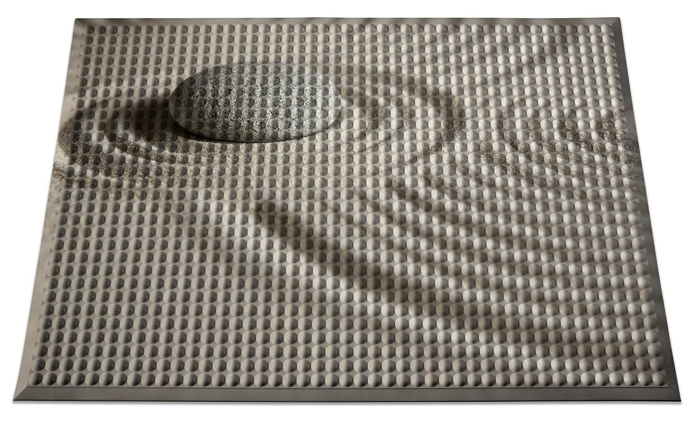 Ergomat IN-0203-06 Home Edition Anti-Fatigue Graphic Floor Mats 2 x 3 2/' x 3/' INC Zen Sand Bubble