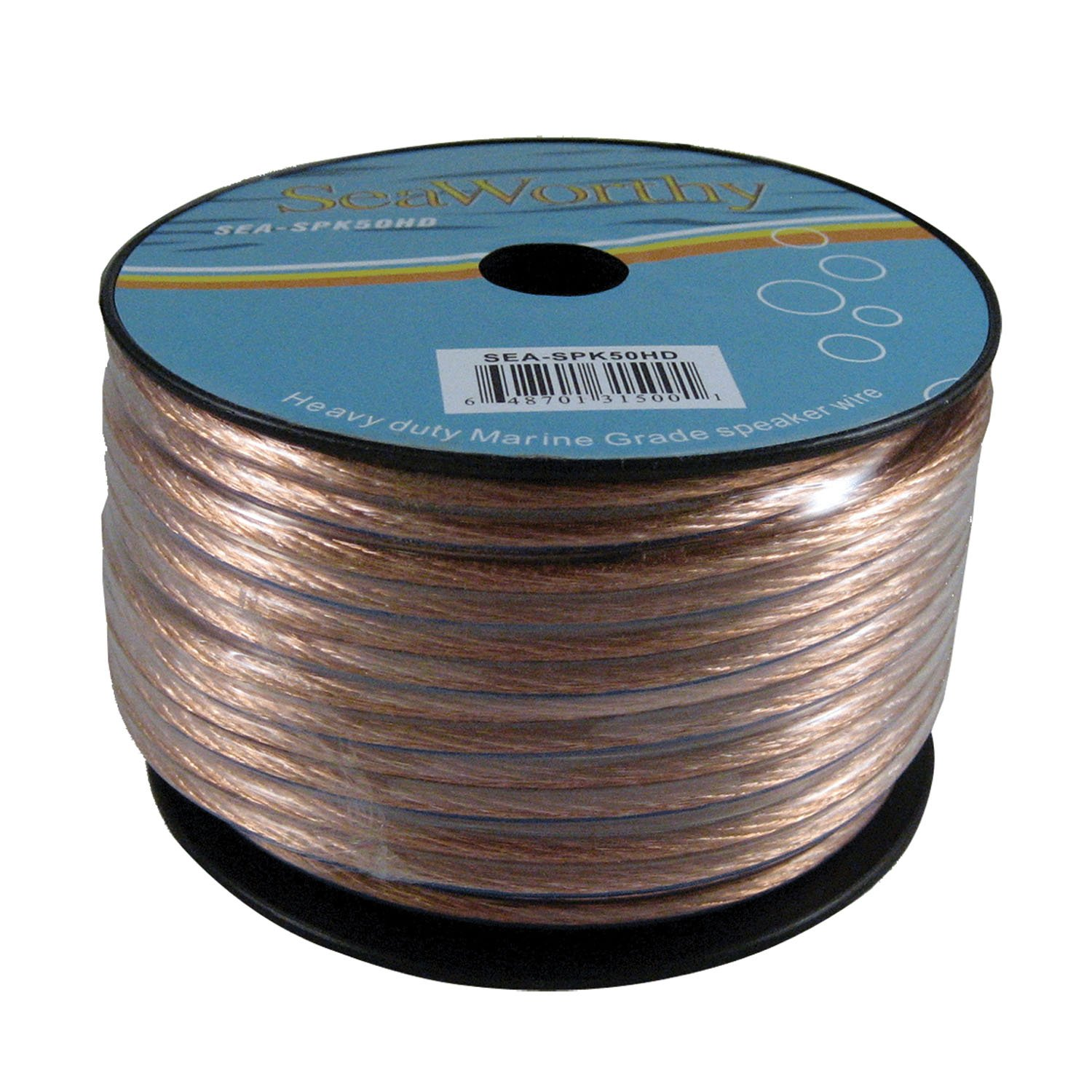 SEAWORTHY 18 GAUGE 50\' MARINE SPEAKER WIRE: Amazon.co.uk: Electronics