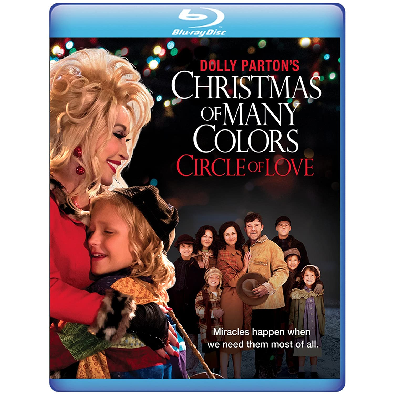 amazoncom dolly partons christmas of many colors circle of love blu ray dolly parton jennifer nettles ricky schroder movies tv - Dolly Parton Coat Of Many Colors Book