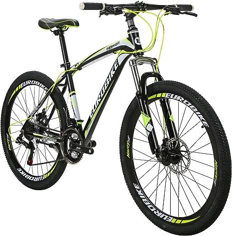 EUROBIKE EURX1 Bicicletas de montaña 21 velocidades MTB Bicicleta ...