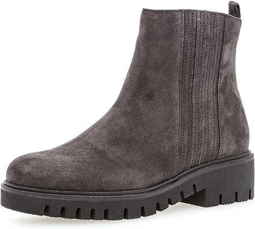 Gabor Damen Chelsea Boots 92.786,Frauen Stiefel,Halbstiefel,Stiefelette,Bootie,Schlupfstiefel,gefüttert,Winterstiefeletten,Blockabsatz