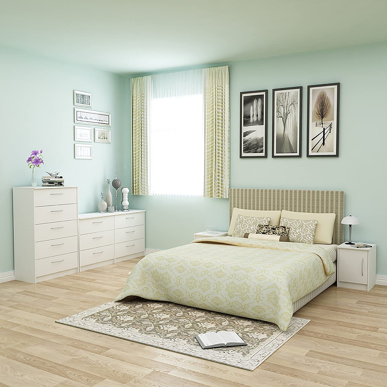 amazon com 6 drawer dresser modern contemporary storage chest