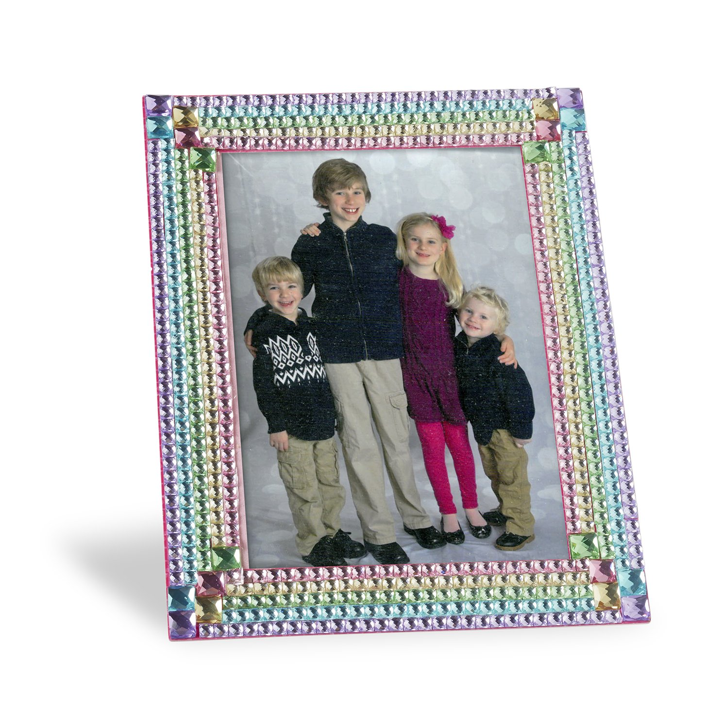 Melissa & Doug - Marco con Piedras de Strass, Press-On Rhinestones Frame (19239): Amazon.es: Juguetes y juegos