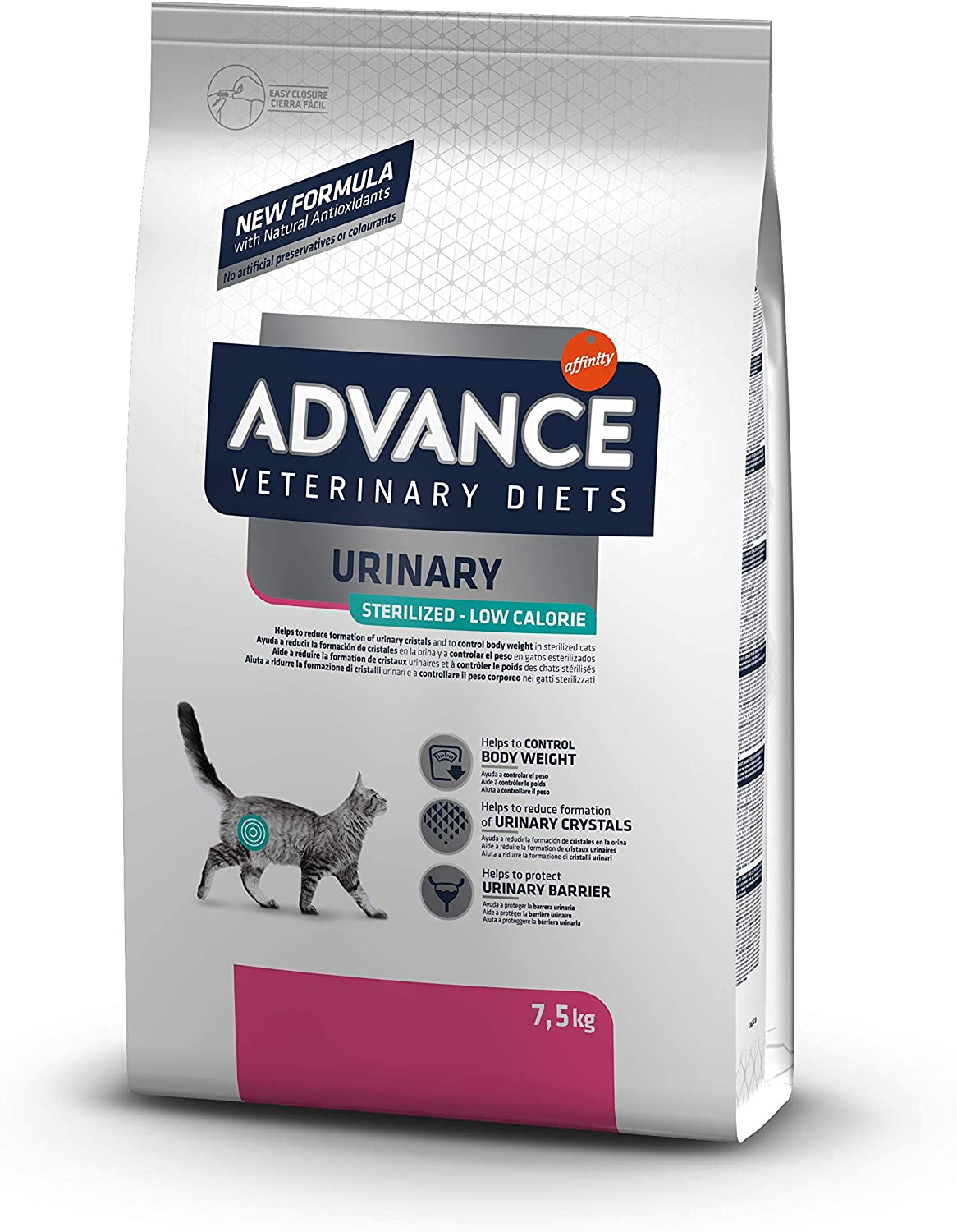 Advance-Veterinary-Diets-Urinary-Low-Calorie-Pienso-para-Gatos-7-5-7-7-5-kg