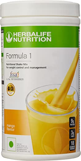 Formula 1 Shake Herbalife for Weight Loss (500 g,Mango)