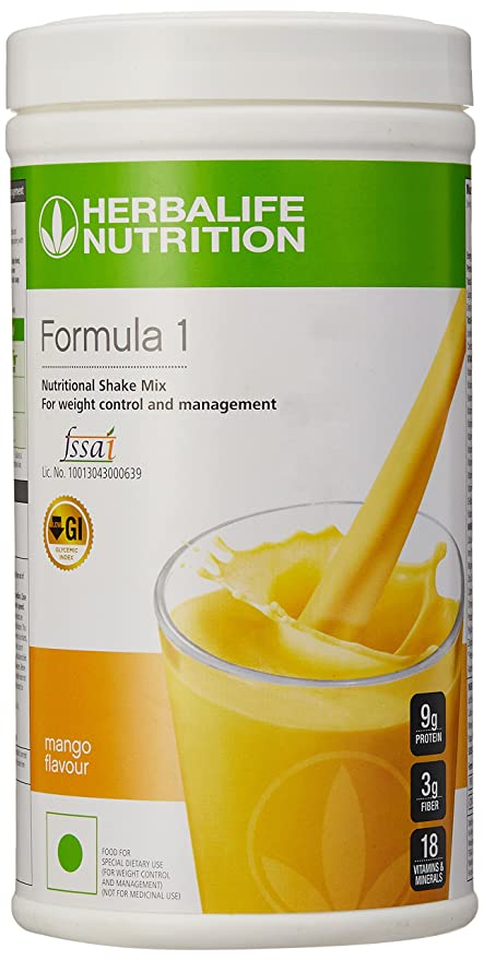 Herbalife Formula 1 Shake For Weight Loss 500 G Mango