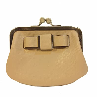 Amazon.com: Coach Saffiano Leather Darcy Bow Framed Coin ...